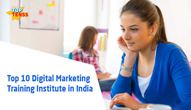Top 10 Digital Marketing Training Institute in India