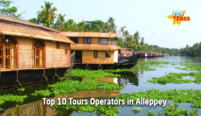 Top 10 Tour Operators in Alleppey