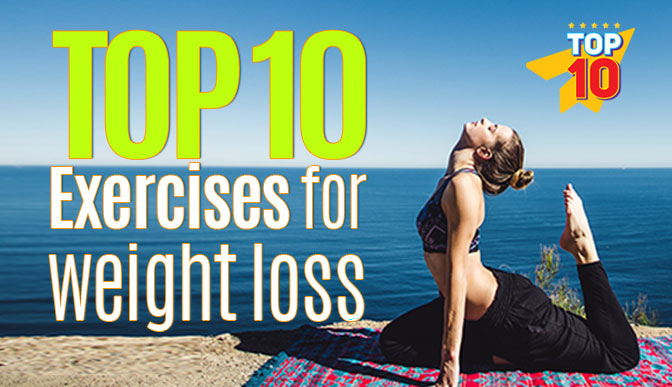 Top 10 exercises for weight loss