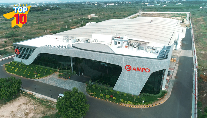 Ampo Valves India - High alloys and stainless steels Producer.