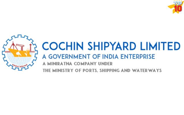 Cochin shipyard , manufacturing company ernakulam