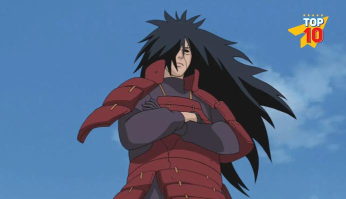 Madara Uchiha best anime villian