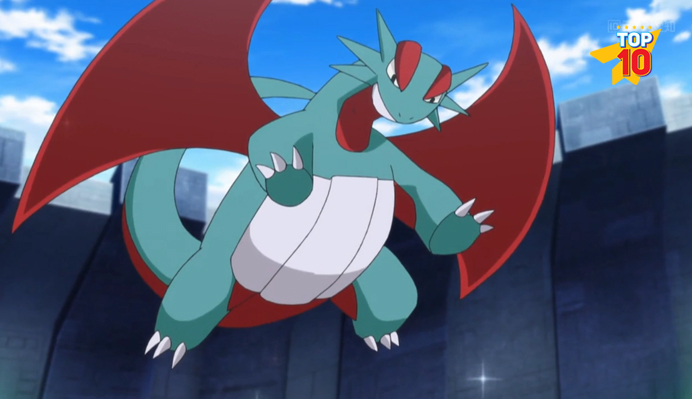 Salamence non legendary pokemon character