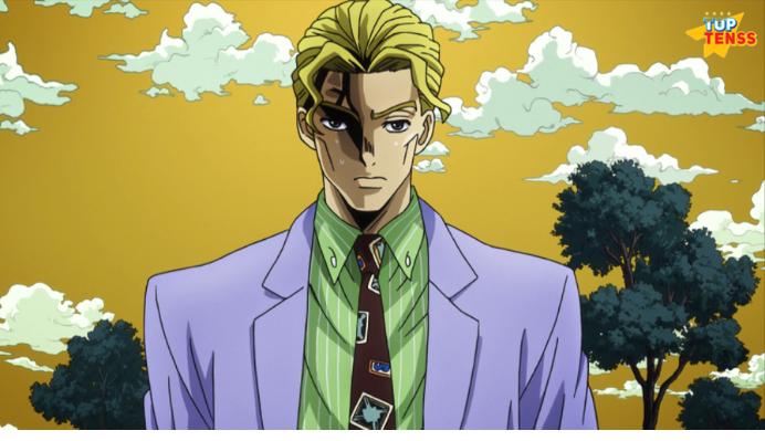Kira Yoshikage anime villian