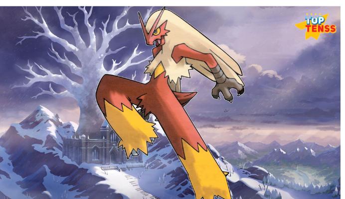 Blaziken non legendary pokemon