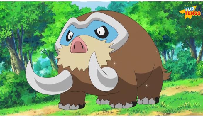 Mamoswine strongest non legendary pokemon