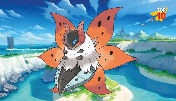 Volcarona best non legendary pokemon